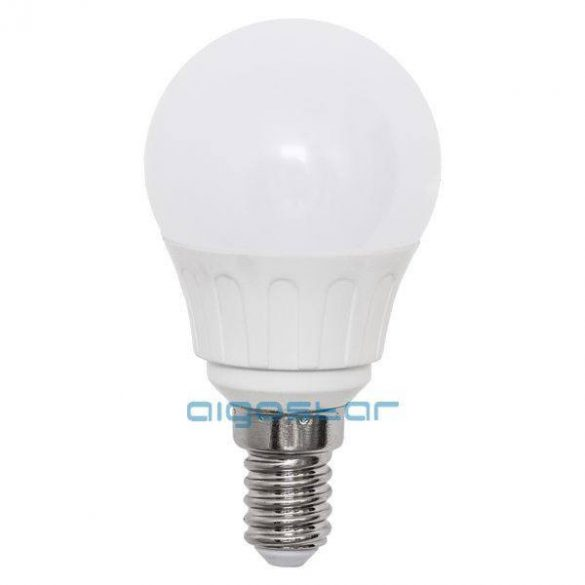 Aigostar LED izzó G45 E14 6W 270° Meleg fehér