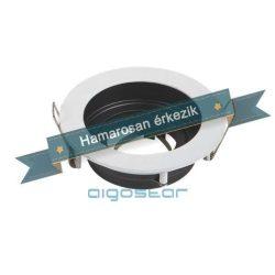 Aigostar LED spot lámpa beépítő keret kerek TS71 Fehér GU10 és MR16-os LED izzókhoz