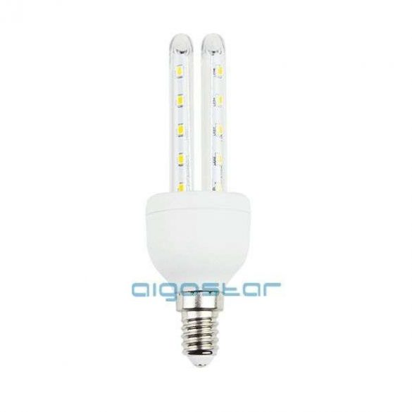 Aigostar Kukorica LED izzó T3 2U E14 4W Hideg fehér