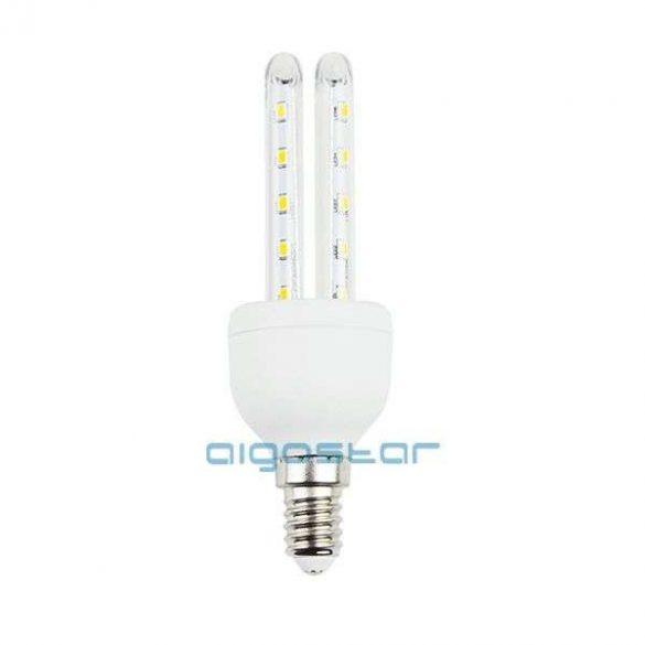 Aigostar Kukorica LED izzó T3 2U E14 6W Hideg fehér