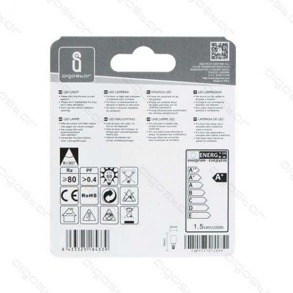 Aigostar LED izzó T22 gömb 1,5W E14 Meleg fehér