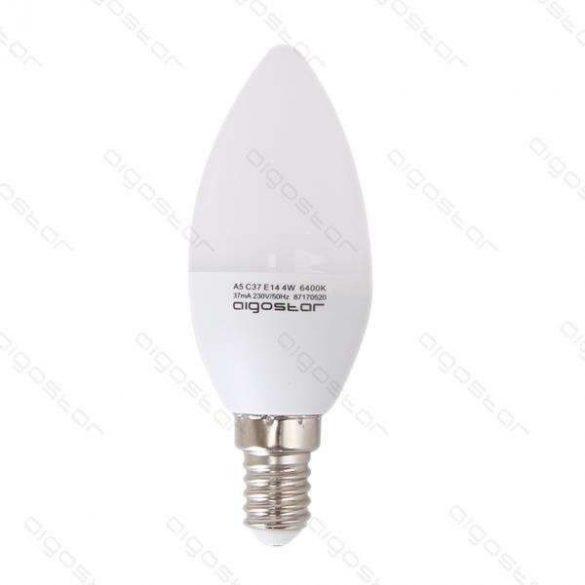 Aigostar LED izzó Gyertya 3W E14 Természeres fehér