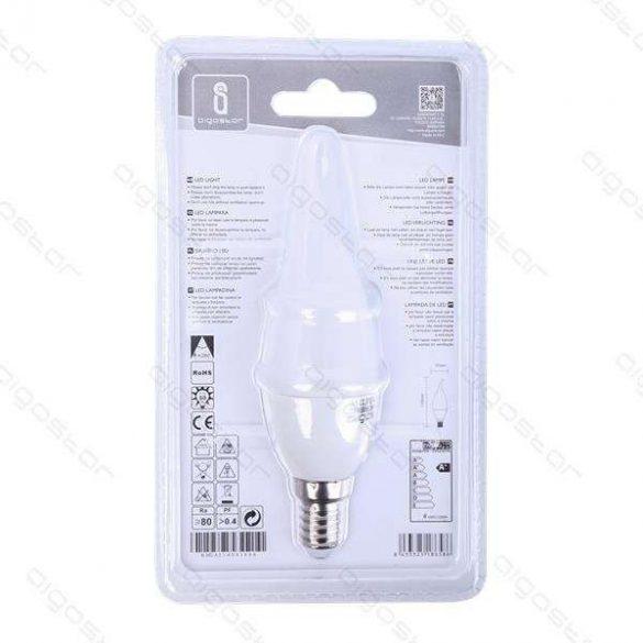 Aigostar LED izzó Lánggyertya 4W E14 Természeres fehér