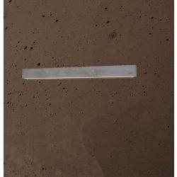 CONCRETE LINE WALL Beton Falilámpa 14W Csokoládé