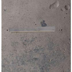 CONCRETE LINE WALL Beton Falilámpa 14W Szürke
