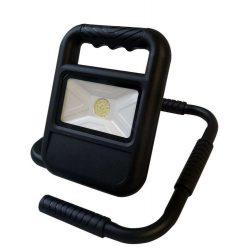 Greenlux Hordozható Akkumulátoros USB Fekete LED Reflektor 10W 4000K IP54