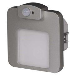 Zamel LEDES Beltéri Lépcső és Oldalfali lámpa Beépíthető MOZA 14V Alumínium keret Meleg fehér Beépített érzékelővel
