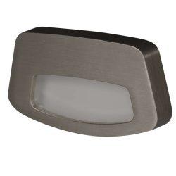 Zamel LEDES Beltéri Lépcső és Oldalfali lámpa TERA 14V Inox keret Meleg fehér