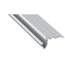 Led Alumínium Lépcső Profil SCALA 1 méter Ezüst