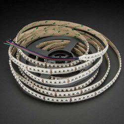 RGB led szalag 3535 SMD, 24W/m, 120 led/m, 12V, IP20, 3 év