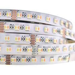 RGB CCT led szalag 5050 SMD, 60led/m, 12W/m, 24V, 3 év garancia.